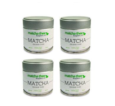 MatchaTheeKopen.nl-Organic A Grade Matcha thee poeder-120 gram
