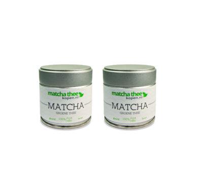 MatchaTheeKopen.nl-Organic A Grade Matcha thee poeder-60 gram