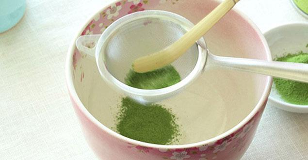 Hoe maak ik Matcha groene thee stap 1