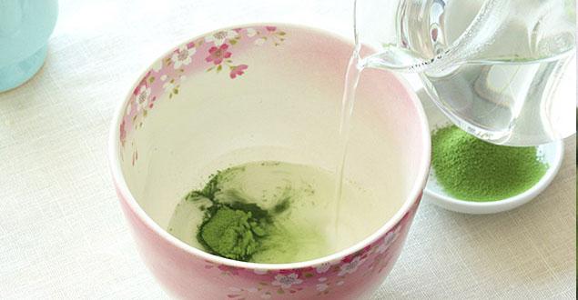 Hoe maak ik Matcha groene thee stap 2