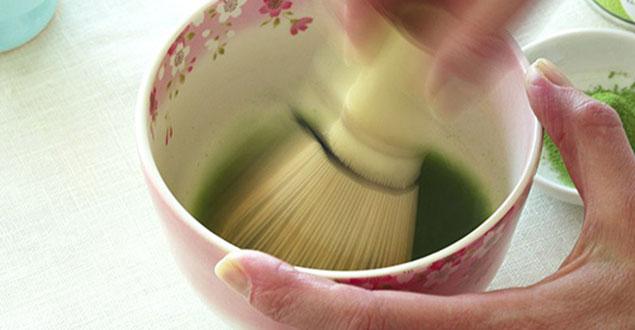Hoe maak ik Matcha groene thee stap 3
