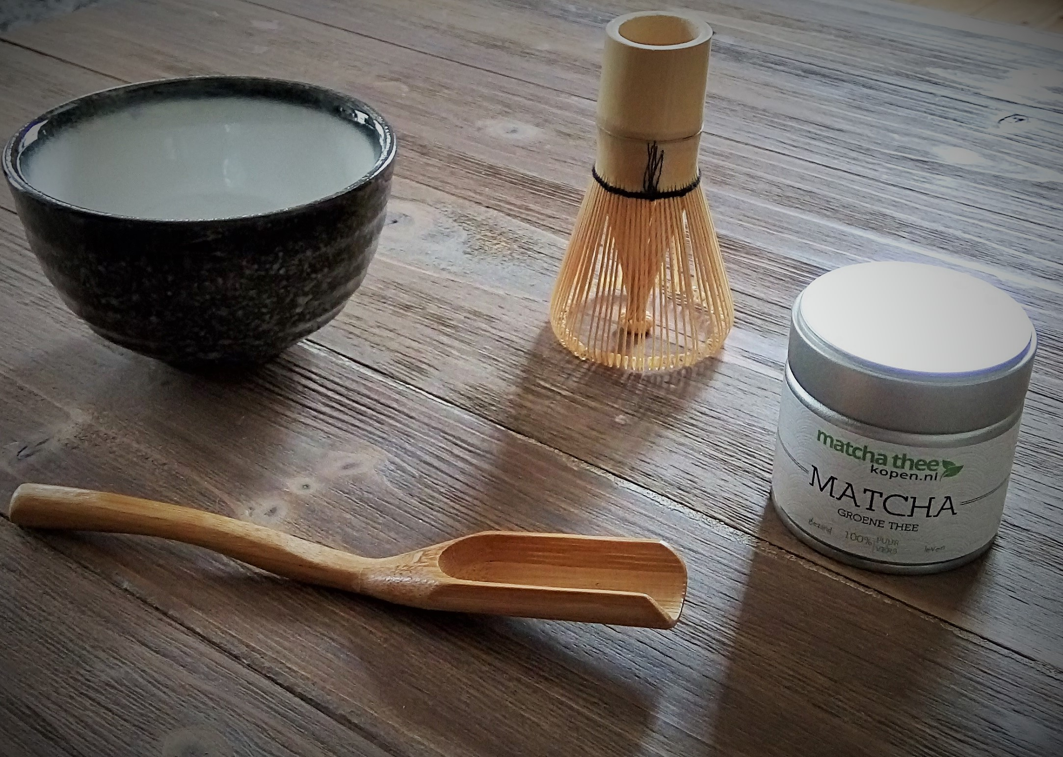 Matcha starter set traditioneel